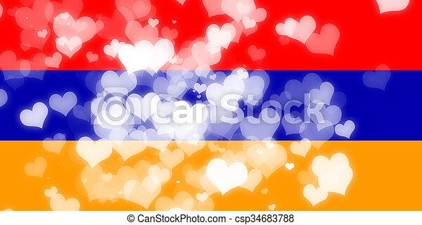 Armenia flag - csp34683788