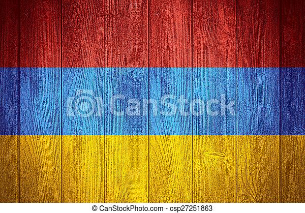 Armenia flag - csp27251863