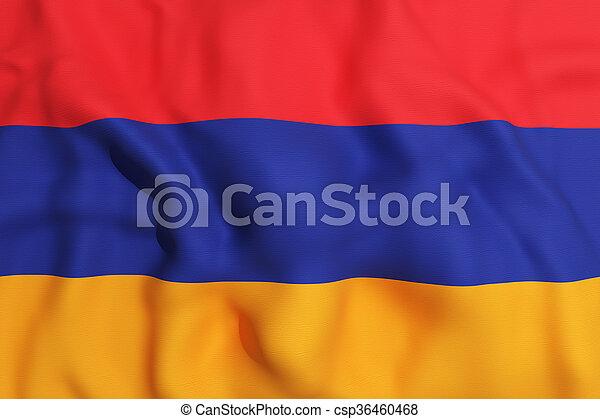 Armenia flag - csp36460468