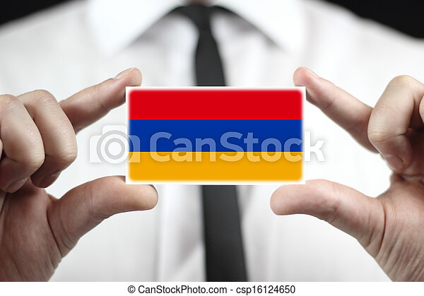 Armenia Flag - csp16124650