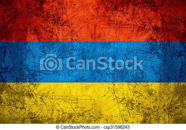 Armenia flag - csp31596243