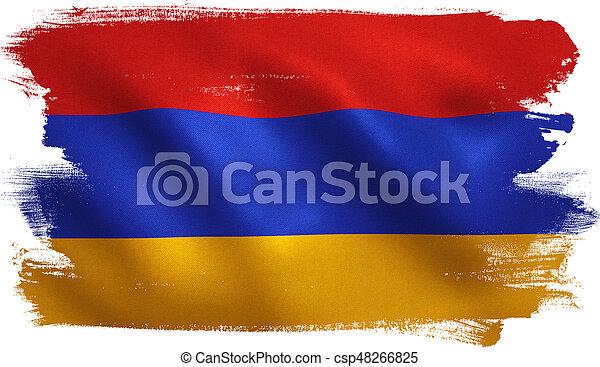 Armenia Flag - csp48266825