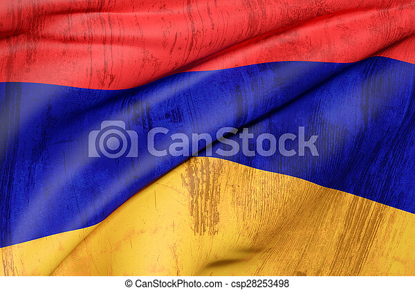Armenia flag - csp28253498