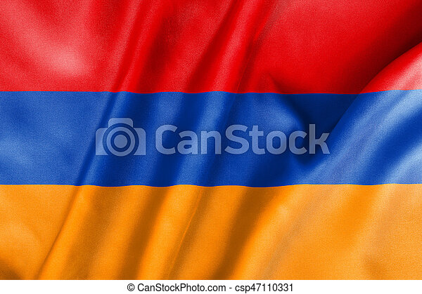 Armenia Flag - csp47110331