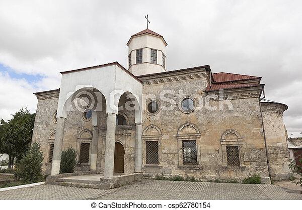 Armenian Gregorian Church of St. Nicholas the Wonderworker in Evpatoria, Crimea - csp62780154