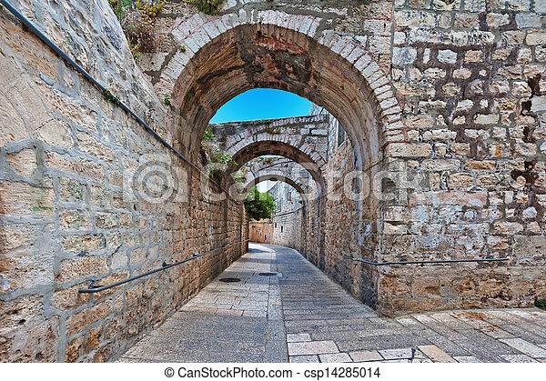 Armenian Quarter - csp14285014