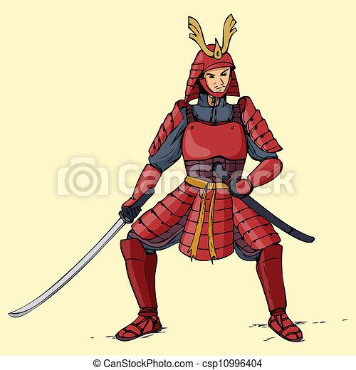 Armored Samurai - csp10996404