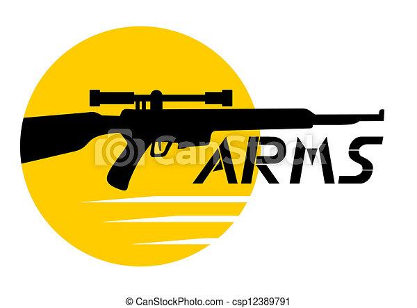Arms icon - csp12389791