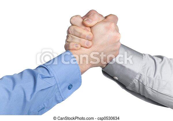 Arms wrestling - csp0530634