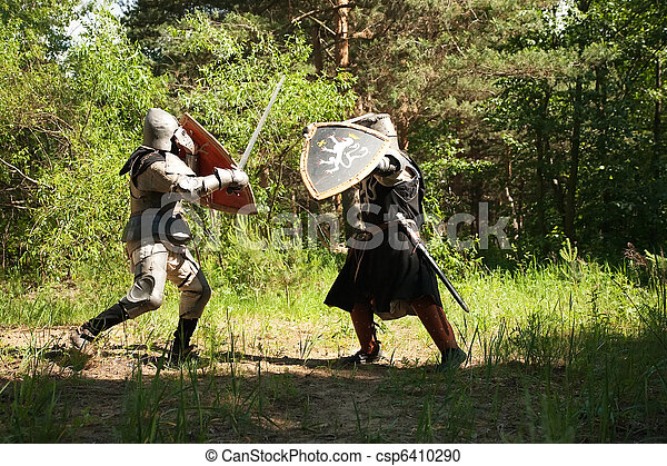 armure chevaliers for t combat armure chevaliers deux photographie de stock. Black Bedroom Furniture Sets. Home Design Ideas