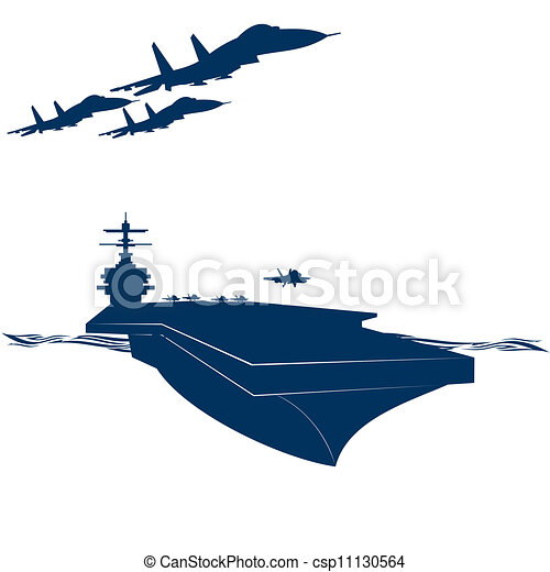 army navy military aircraft taking off from an aircraft clip rh canstockphoto com