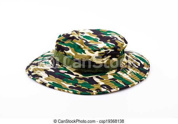 2c6690d6b73f8b Army hat isolated white background - csp19368138