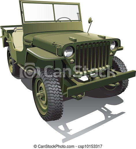 army jeep - csp10153317
