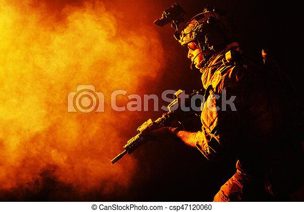 Army Ranger in field Uniforms - csp47120060