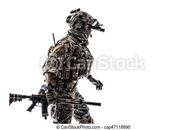 Army Ranger in field Uniforms - csp47118690