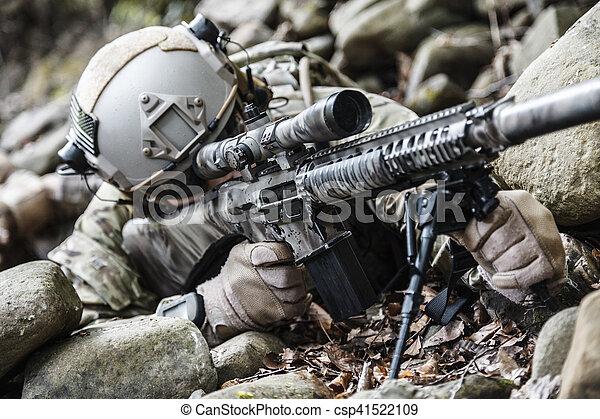 army ranger sniper - csp41522109