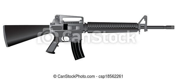 Army Rifle - csp18562261