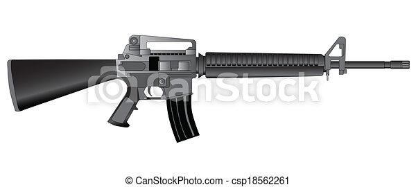 Army Rifle - csp18562261
