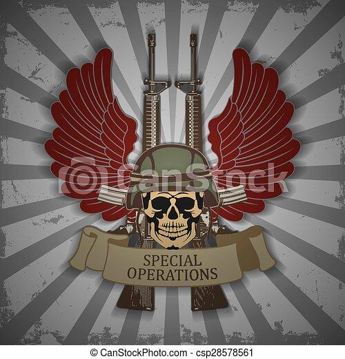Army symbol - csp28578561