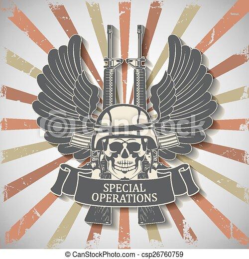 Army symbol - csp26760759