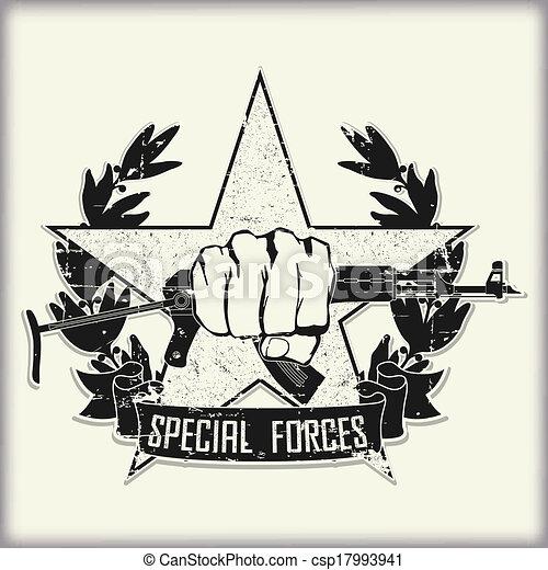 Army symbol - csp17993941