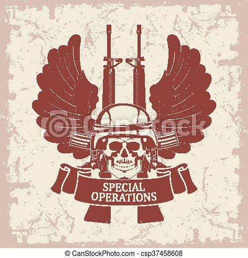 Army symbol - csp37458608