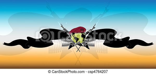 Army takes - csp4764207
