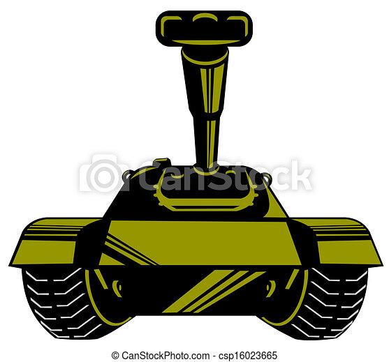 Army Tank Retro - csp16023665
