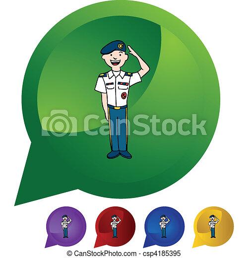 Army Uniform - csp4185395