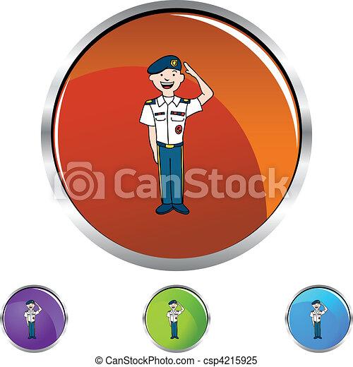 Army Uniform - csp4215925