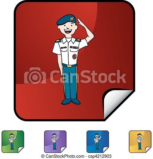 Army Uniform - csp4212903