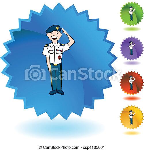 Army Uniform - csp4185601