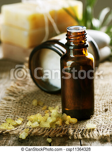 aromatherapy., essence., behandeling, spa - csp11364328