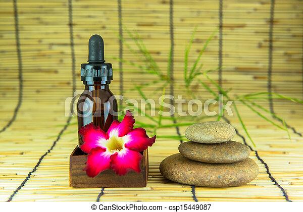 Aromatherapy essential oil - csp15449087