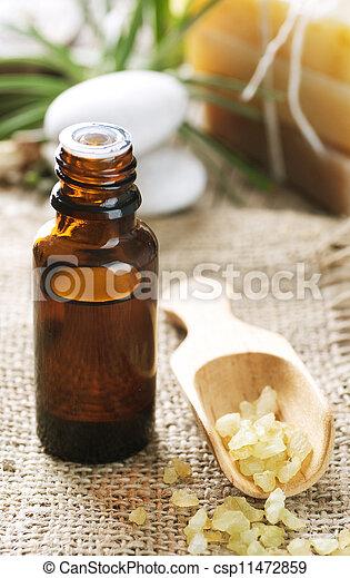 Aromatherapy. Essential Oil. Spa Treatment  - csp11472859