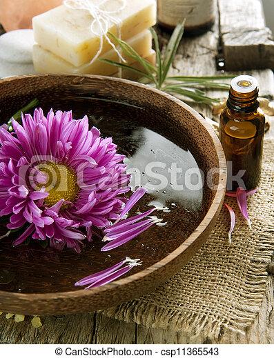 Aromatherapy. Essential Oil. Spa Treatment - csp11365543