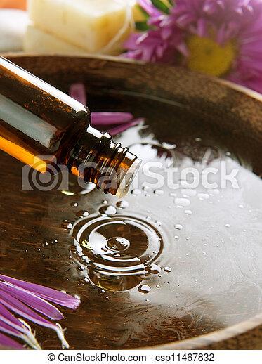Aromatherapy. Essential Oil. Spa Treatment  - csp11467832
