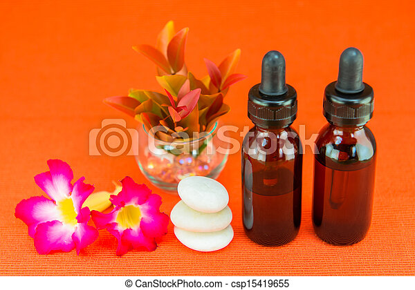 Aromatherapy essential oil - csp15419655