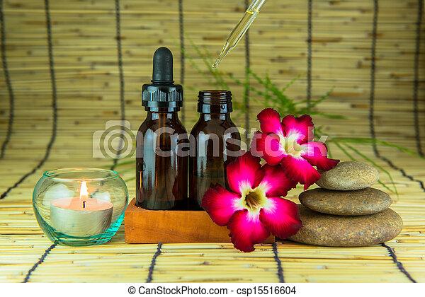 Aromatherapy essential oil  - csp15516604
