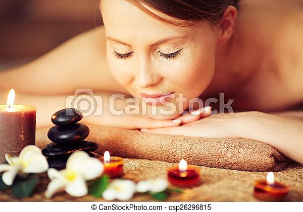 aromatherapy, godere - csp26296815