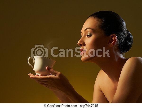 aromatic coffee - csp7447915