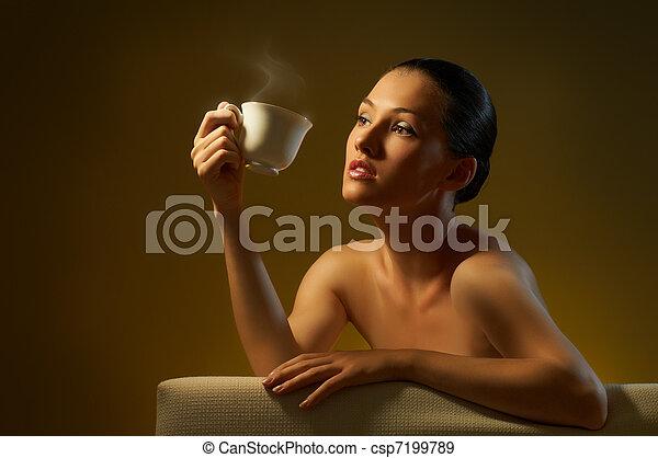 aromatic coffee - csp7199789
