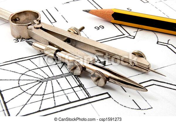 arquitetura, planos - csp1591273