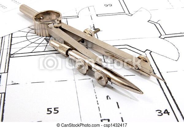 arquitetura, planos - csp1432417