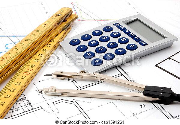 arquitetura, planos - csp1591261