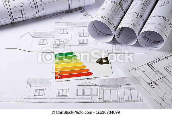 arquitetura, planos - csp30734099