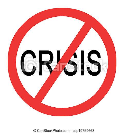 arrêt, crise - csp19759663