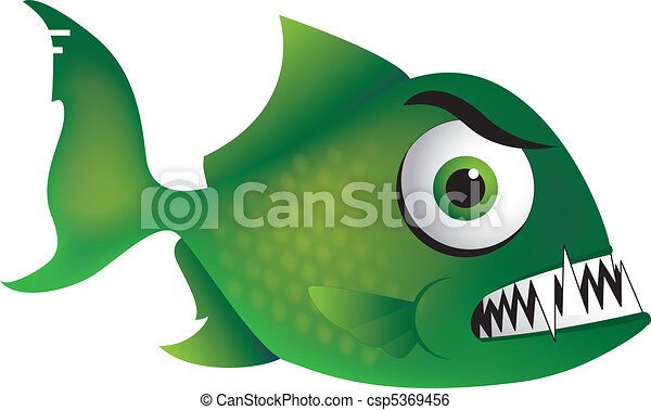 arrabbiato, piranha - csp5369456