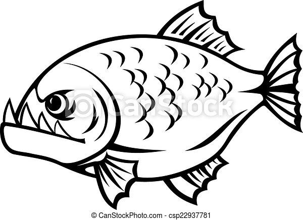 arrabbiato, piranha - csp22937781