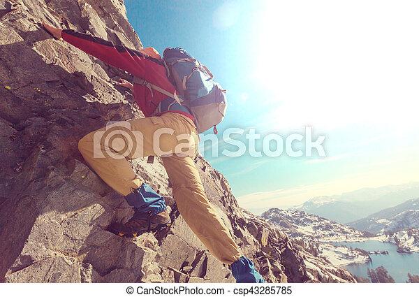 arrampicarsi - csp43285785